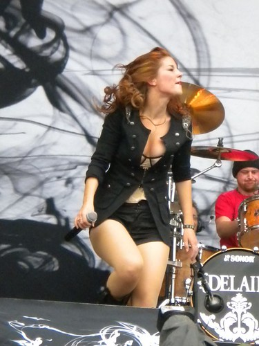 Delain live at Sonisphere