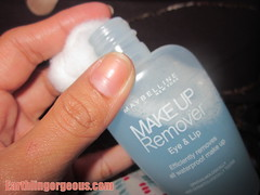 how to use the make up remover