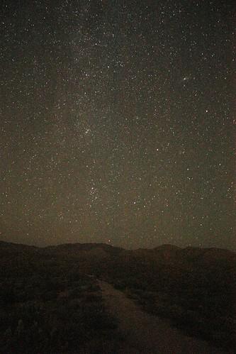 Milky Way and Andromeda Galaxy (M31)