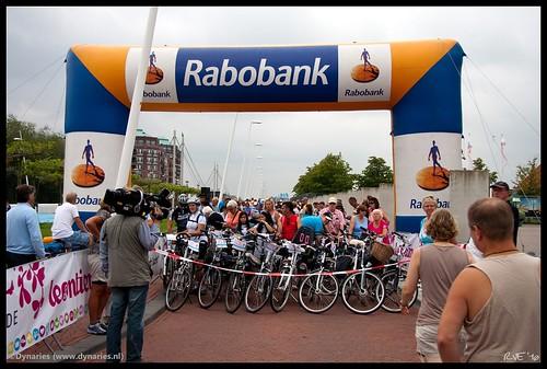 Leontien van Moorsel Family Ride Lelystad (21-08-2010).