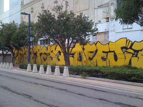 Yellow Mural 3