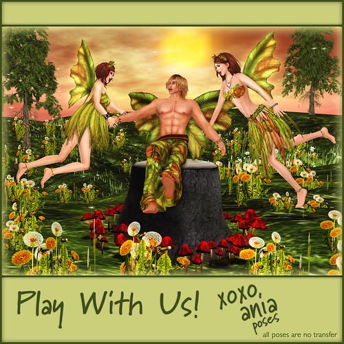*xoxo ania* Play With Us pose set