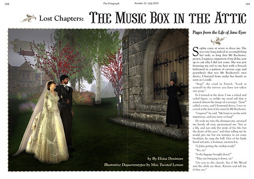 The Primgraph - Issue 12: The Music Box in the Attic