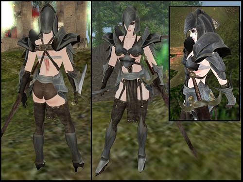 female caunatha - whole armor