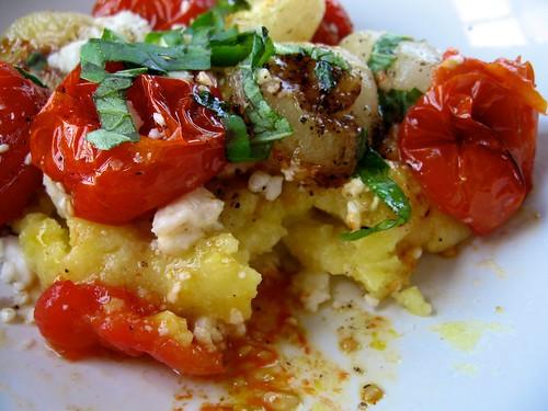 My first polenta.