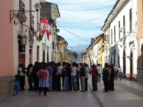 WM-Schauen in Ayacucho