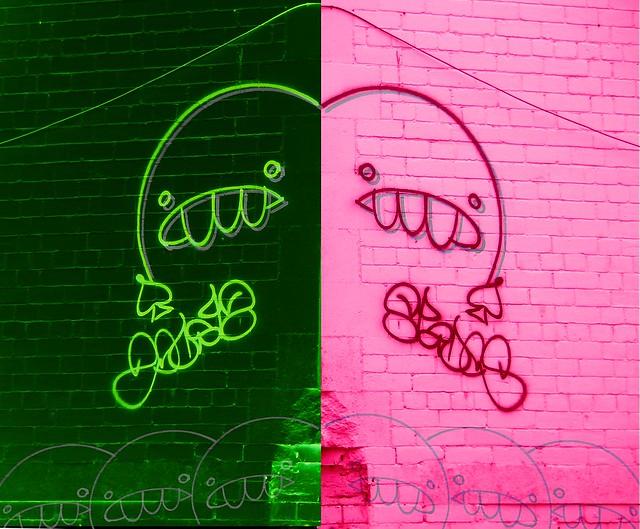 Cardiff Graffiti Characters No3
