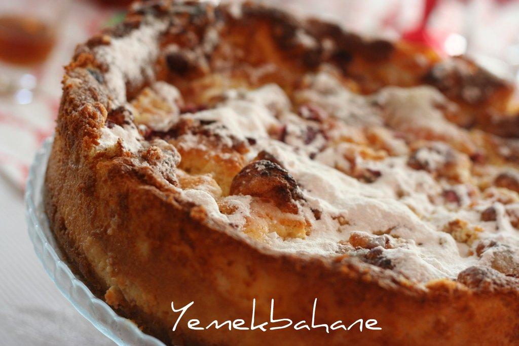 Kayısılı Yoğurt Pastası
