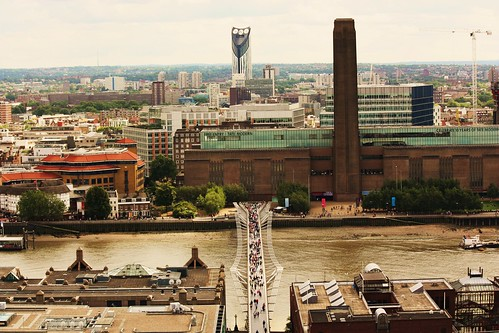 View of Tate Modern from St. Paul's Cathedral 3