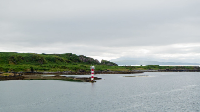 Lighthouse on the Isle of Kerrera, near Oban