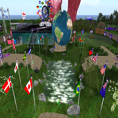 Relay for Hope RFL campsite 2009