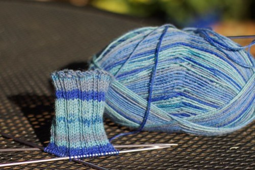 Grandma Weiss Christmas Socks: 2010