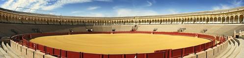 Bullfighting ring