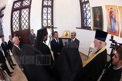 Dmitry Medvedev's visit to Gyumri