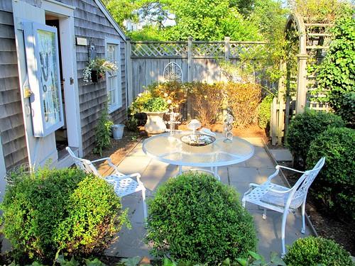 Nantucket patio