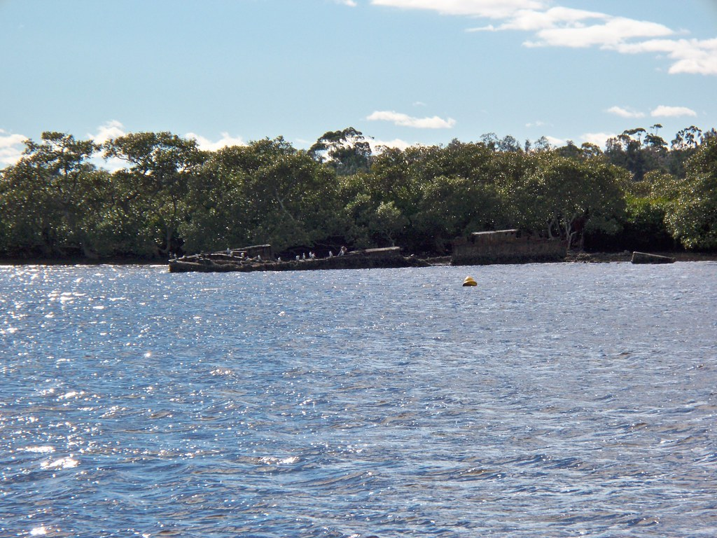 Wreck on the Myall River, Tea Gardens