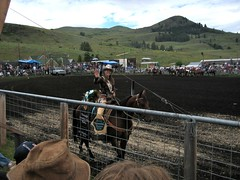 rodeo queen at the chesaw rodeo