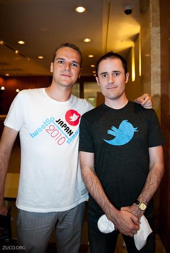 Evan Williams and Hector Garcia