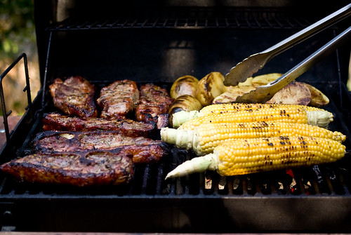 a full grill