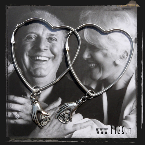 LHLOVE orecchini cuore - heart earrings 1129