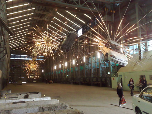 Cai Guo-Qiang's exploding cars
