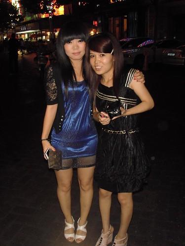 Sha Sha and Wei Li
