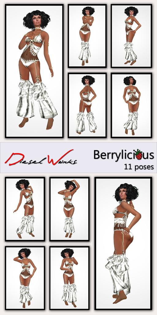 Berrylicious poses @ Diesel Works