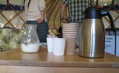 Press yurt coffee, EIBF