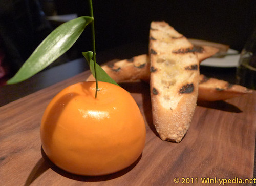 Meat Fruit at Dinner by Heston