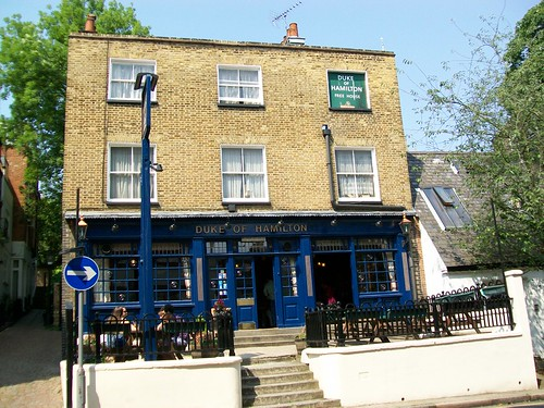 The Duke of Hamilton public house, Hampstead