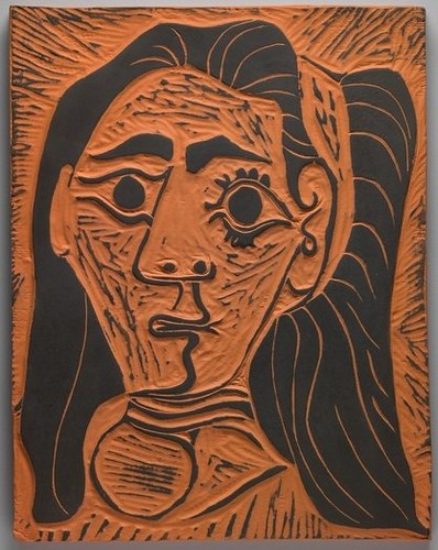 Picasso : Jacqueline with a Headband III