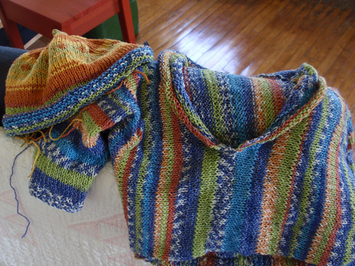 Mexicali sweater and hat