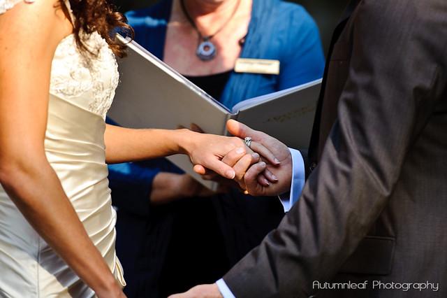 Amanda and Kieran's Wedding-Exchange of Rings