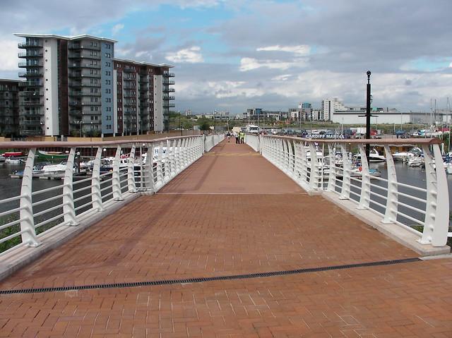 Pont Y Werin bridge final opens