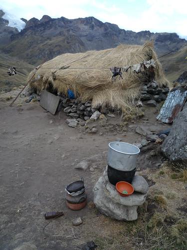 Haeuser der Schaefer, Anden-Trekking