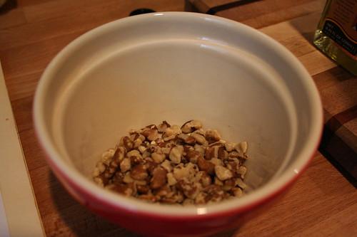 Walnuts for the Beet, Orange and Walnut Salad