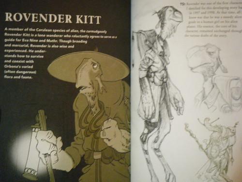 Rovender Kitt sketches