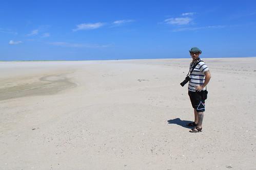Cape Cod - Chatham Bars Inn - North Shore - Ryan in Sea of Sand