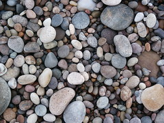 Pebbles on Findhorn Beach