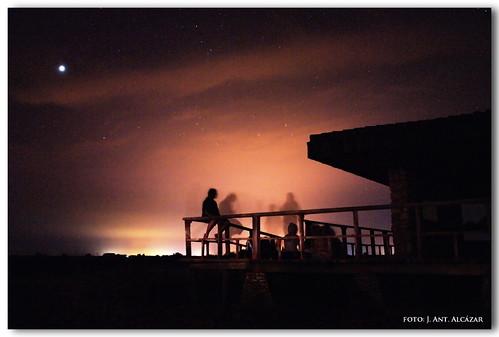"""Una noche obsevando las Perseidas en  el Parque Nacional Tablas de Daimiel"""""""