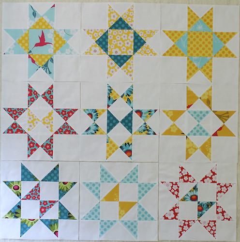 Final star blocks