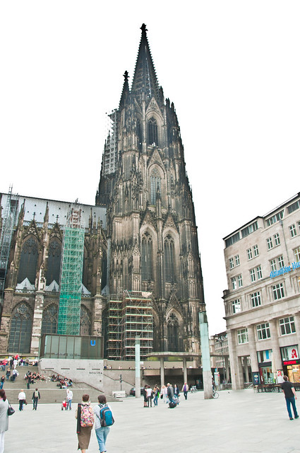Cologne Cathedral on a grey day