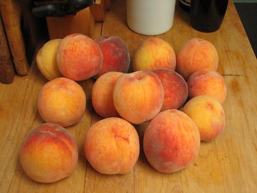 5 # peaches for jam