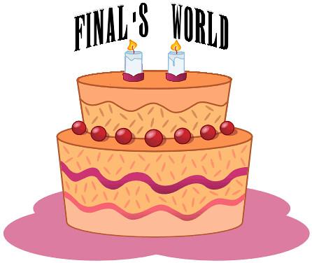Cumpleaños Final's World