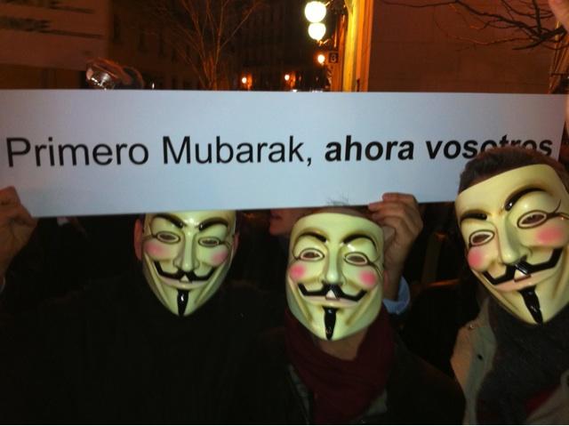 Algunos manifestantes se muestran muy críticos con el Gobierno