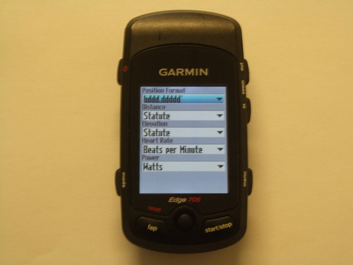 Dummies Guide to the Garmin Edge 705 (3/4)