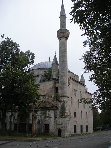 Apparently abandoned mosque in Razgrad