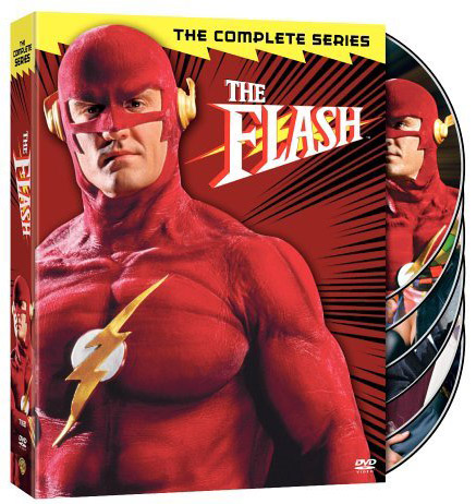 The Flash on DVD