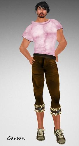 22769 Brown Lenin Zebra Pants and comfijumper  MHOH4