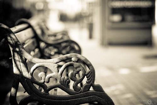 Iron Bench.